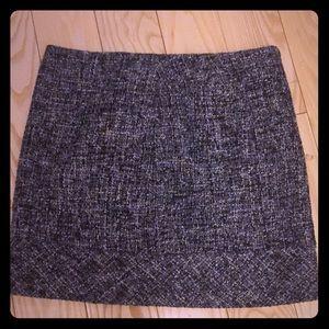 Kenar wool tweed skirt